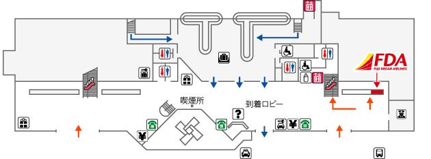 高知空港FDAチェックイン