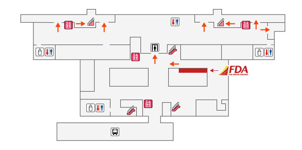神戸空港FDAチェックイン
